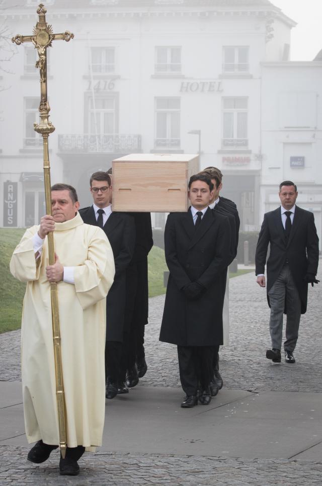 Begrafenis kardinaal Danneels foto Belga DOP
