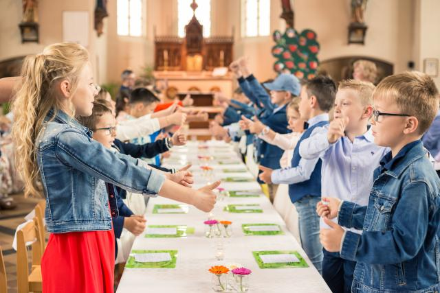 Eerste communie Heultje © JD