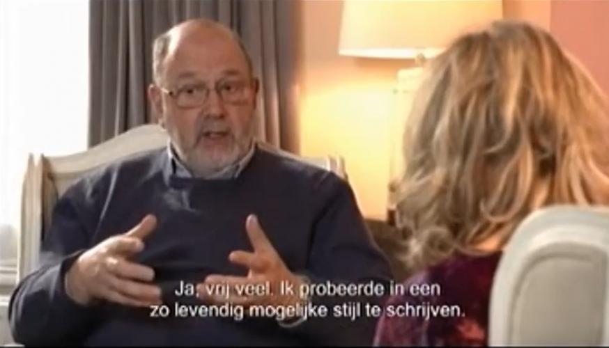 Lucette Verboven interviewt de Britse theoloog Tom Wright © Lucette Verboven