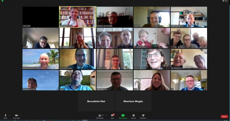Digitaal Clara Café op zondag (08-11-2020) © Claraparochie