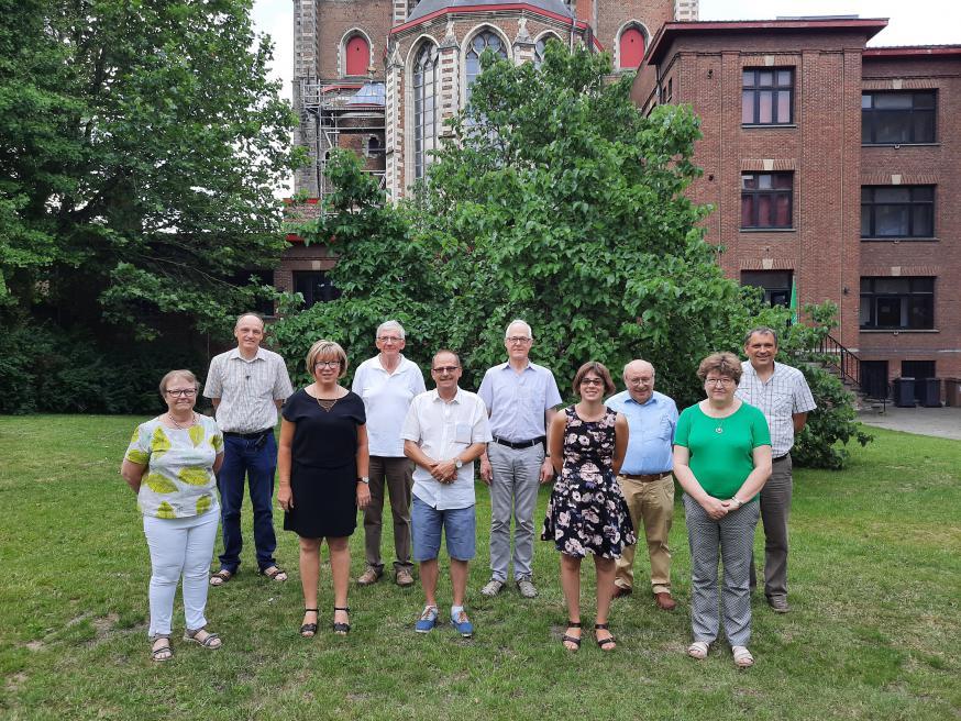 De teamleden van de PE O.L.Vrouw van Groeninge - Kortrijk