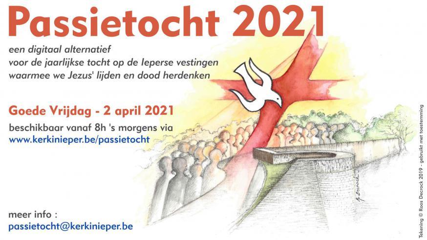 Affiche Passietocht 2021 Ieper