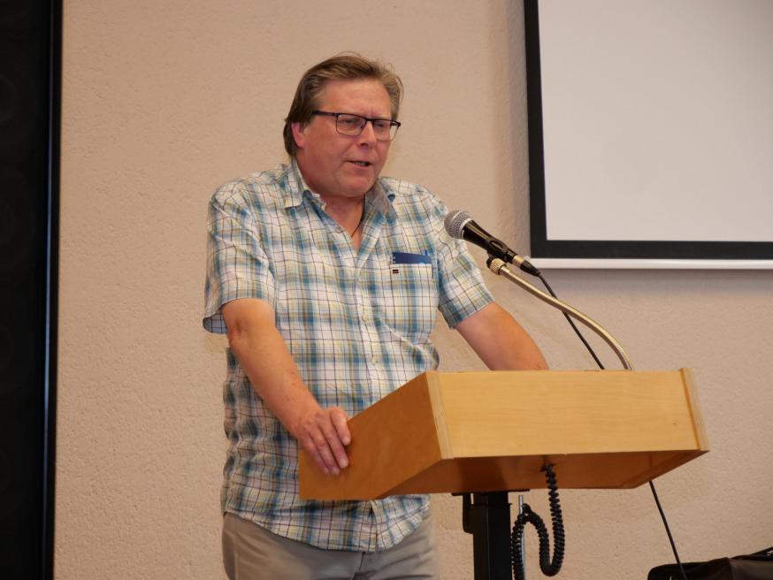Dominique Ballegeer tijdens de TPS © Michiel Van Mulders