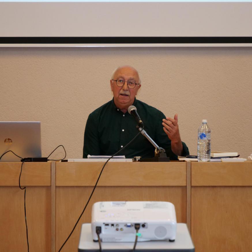 Hubert Sanders tijdens de TPS © Michiel Van Mulders