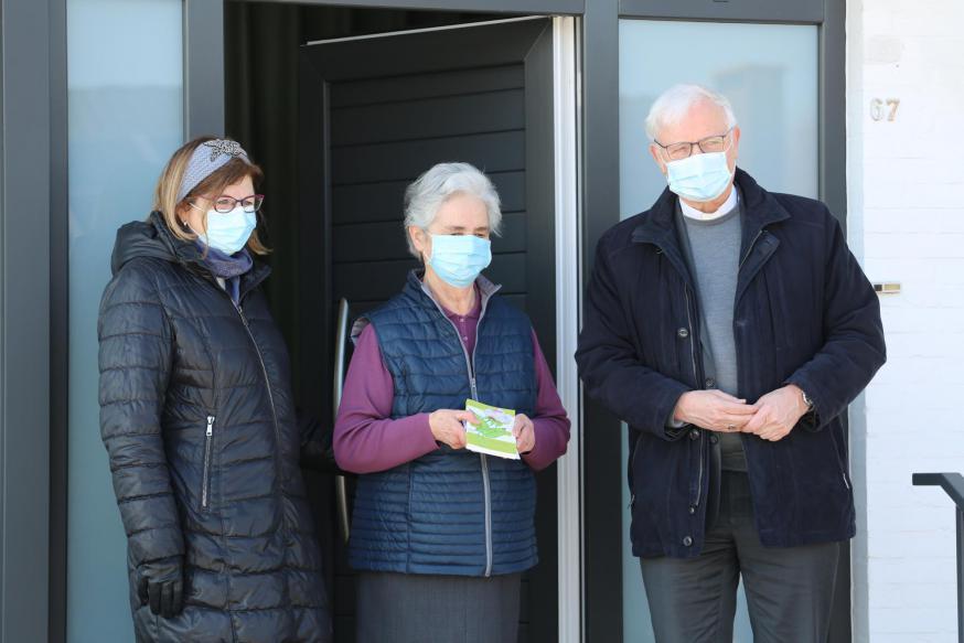Bisschop Hoogmartens op bezoek op Wereldziekendag © Serge Casier