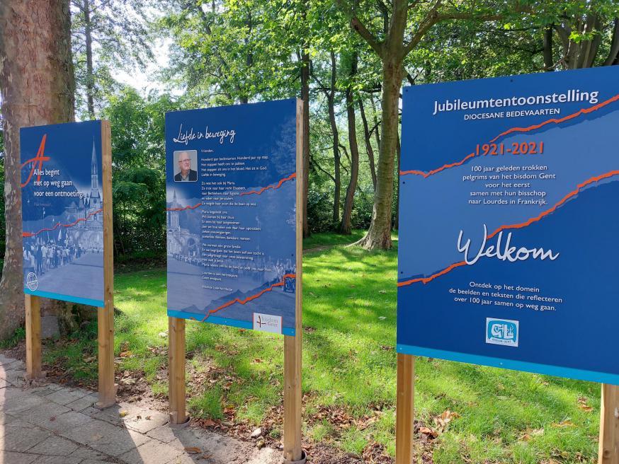 Tentoonstelling 100 jaar bedevaarten bisdom Gent © Bedevaartsoord Oostakker, foto: Paul De Neve