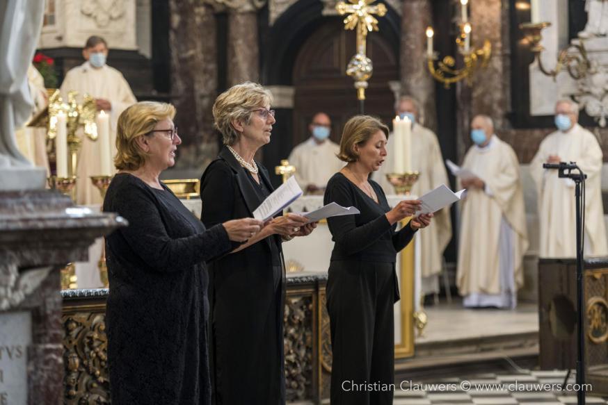 Sopranen Cristel De Meulder, Griet De Meulder en Annelies Brants © Christian Clauwers