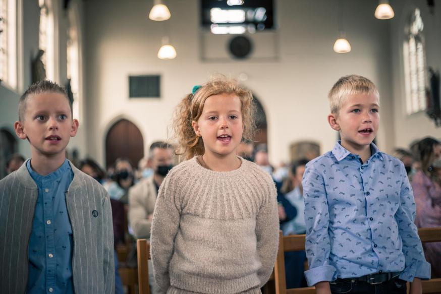 Eerste communie Heultje © JDA