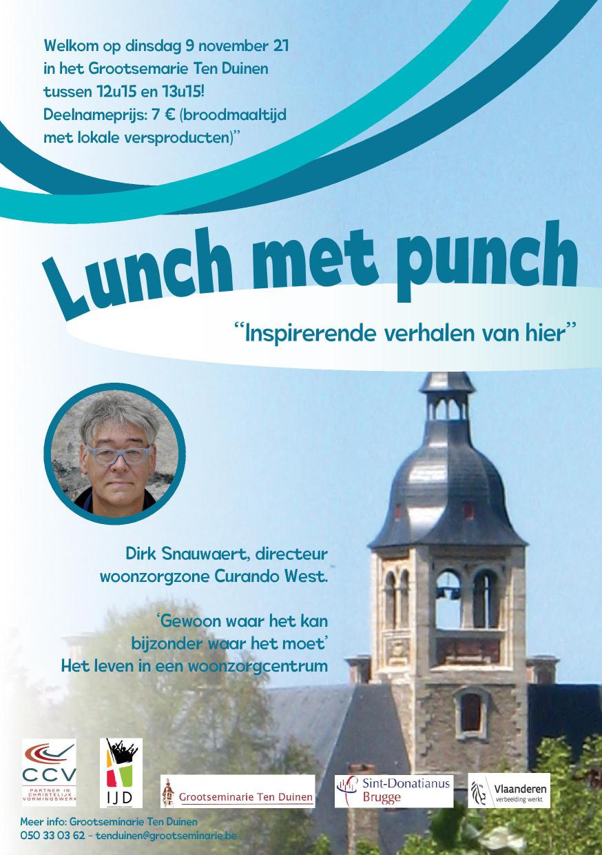 Flyer Lunch met Punch 3 (9 november)