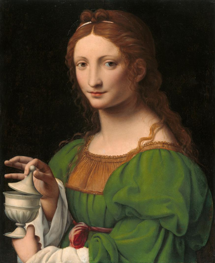 'Magdalena', door Bernardino Luini (rond 1520) © WikiCommons