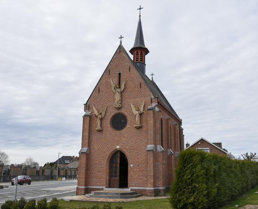 Heilig Grafkapel Eeklo. © Wikipedia.