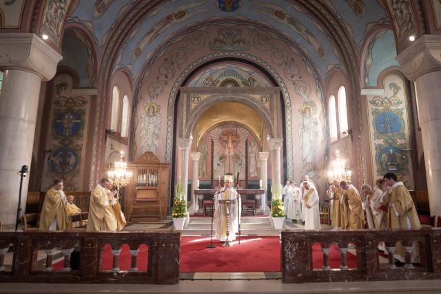 Bisschoppelijke zegen © Damiaan Dufaux