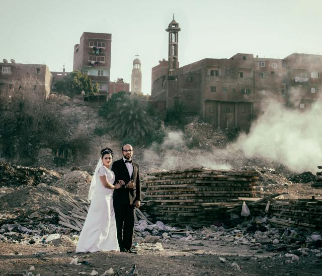 A Blessed Marriage van Roger Anis (Egypte, 2015) © MUba