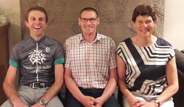Geert, Johan en Ann in Burkina Faso