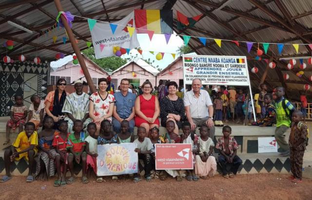 School van vzw Sabou in Burkina Faso