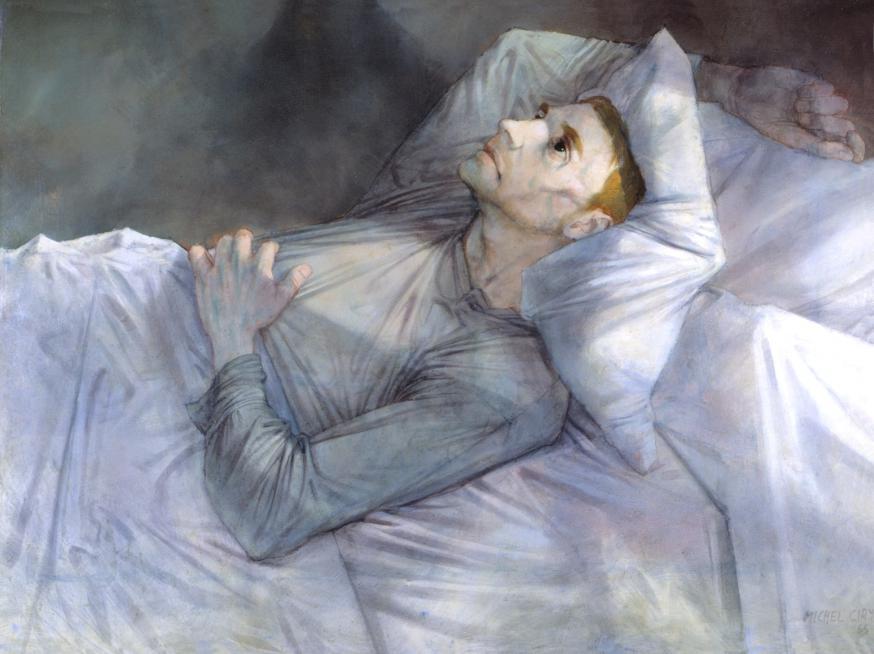 Tout est grâce - M. Ciry, 1966, olieverf op schilderdoek, 154 cm op 111 cm. © BKK – M. Ciry