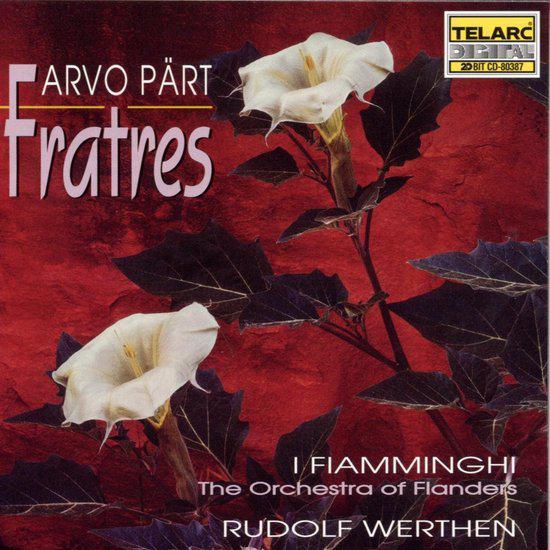 Fratres, cd van I Fiamminghi uit 1995. © rr