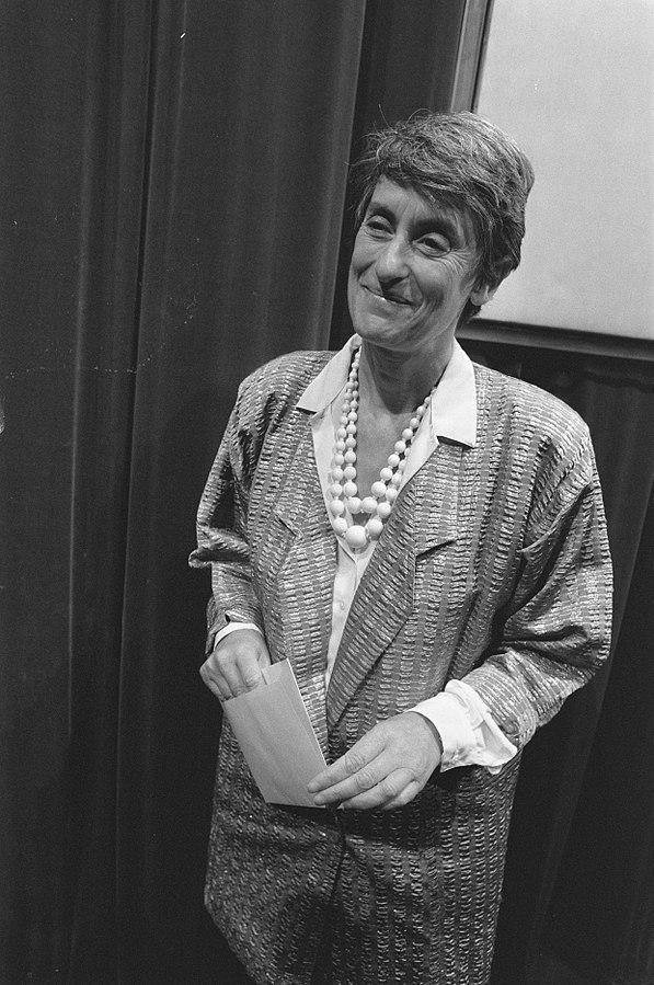 Judith Herzberg in 1988. © Wikimedia / Rob Bogaerts / Anefo