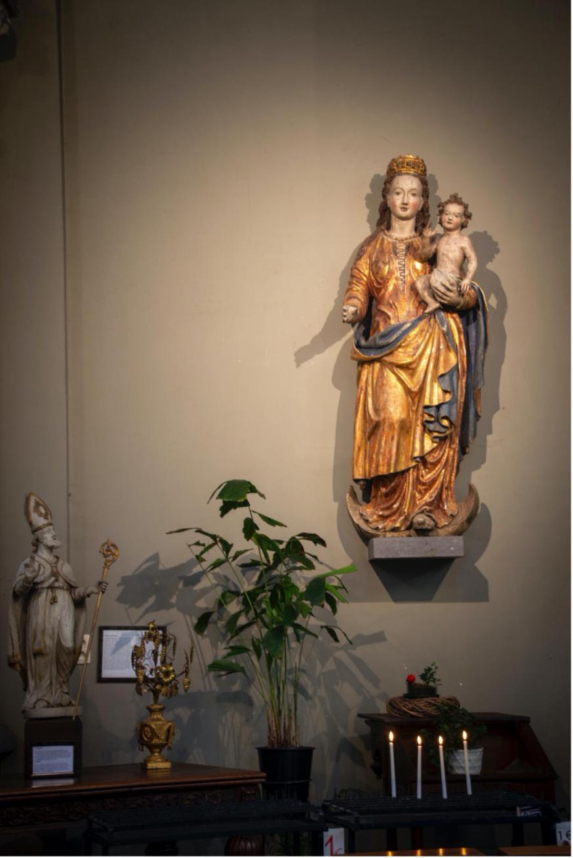 Mariabeeld in onze kerk
