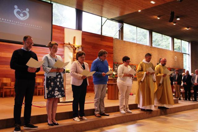 Engagementsverklaring van het pastorale team © foto : Stefaan Archie