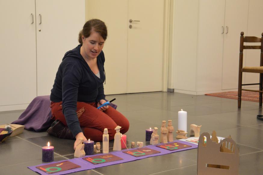 Godly Play - De advent. © Marleen Van der Mast