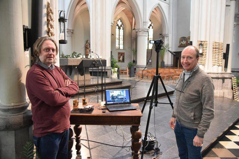 Livestream - de mis van Jette 15.03.2020 © Dieter Nijs