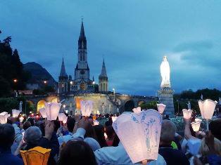 Lichtprocessie Lourdes