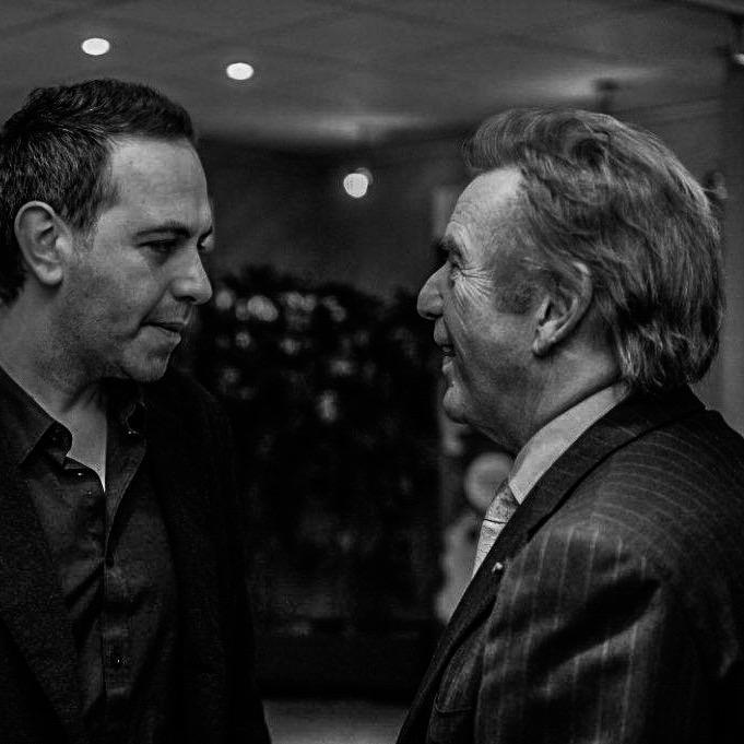 Yves Erauw en Will Tura. © Yves Erauw