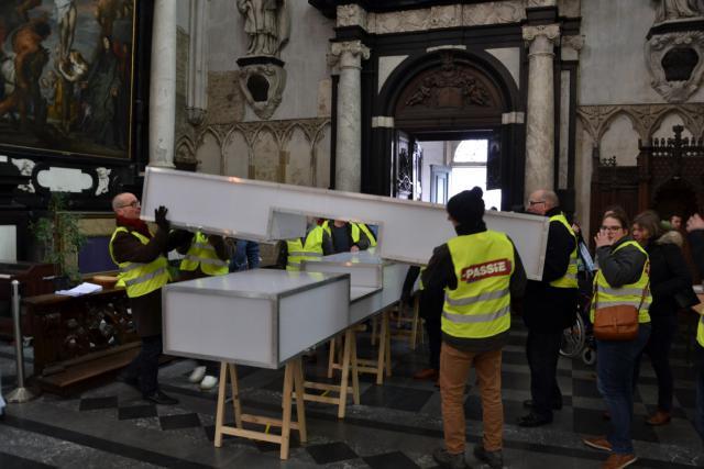 Aankomst en installatie in de Sint-Romboutskathedraal © Jeroen Moens