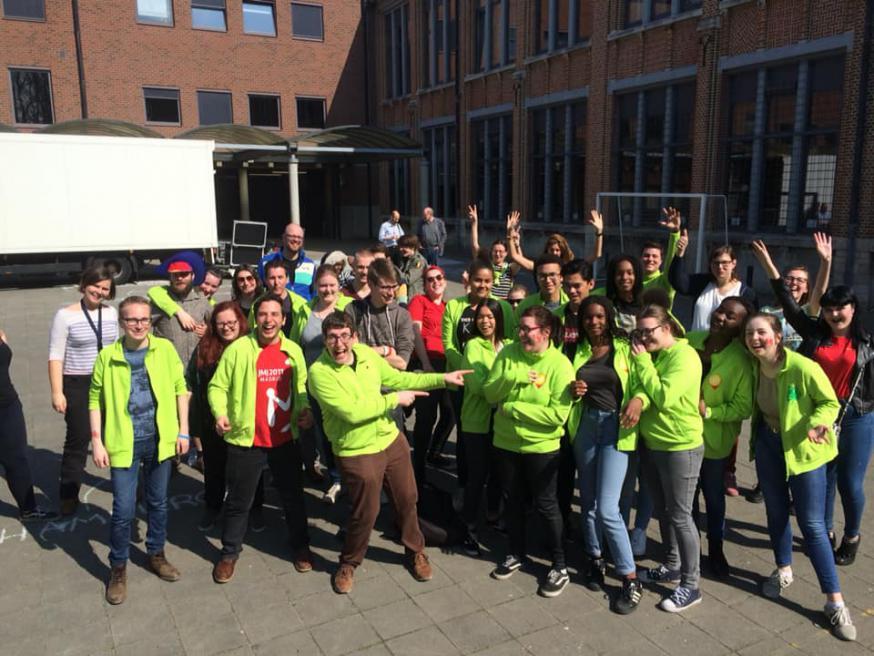 Medewerkers en vrijwilligers IJD Antwerpen