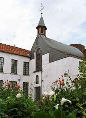 Achterburg 1 - Kapel Begijnhof Oudenaarde