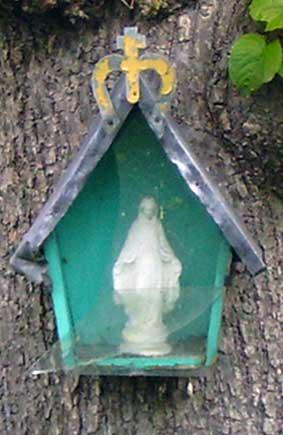 Begijnhof  Mariakapelletje aan lindeboom
