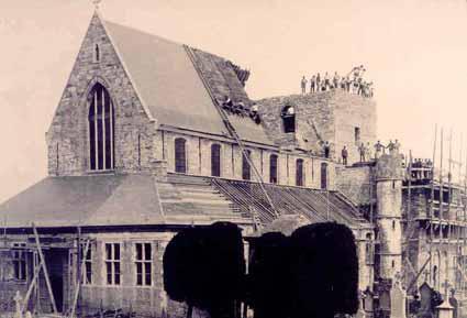 Heropbouw kerk Eine