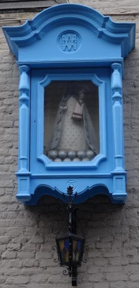Oudenaarde Einestraat 40 - Kastkapel Onze-Lieve-Vrouw van Walcourt