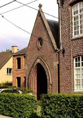 Heurnestraat aan de school