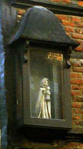 Nederstraat 58 Oudenaarde - Onze-Lieve-Vrouwkapelletje