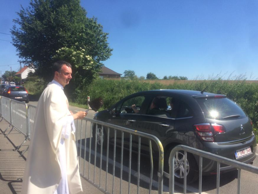 Autowijding in Kerselare