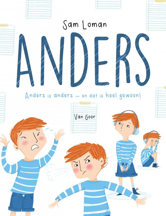 Coverbeeld 'Anders' © Uitgeverij Van Goor