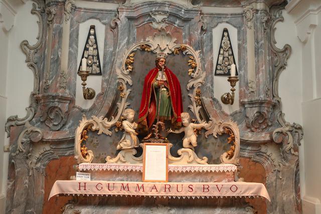 Sint-Gummarus in de Sint-Gummaruskapel in Emblem