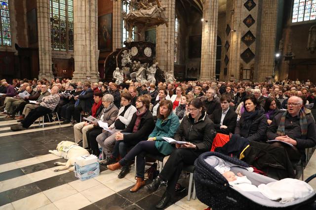 De diocesane kerkgemeenschap © Bisdom Gent, foto: Kristof Ghyselinck