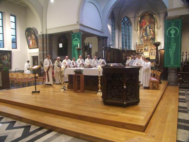 viering voorstelling parochieploeg © Parochie in Assenede-Evergem-Zelzate