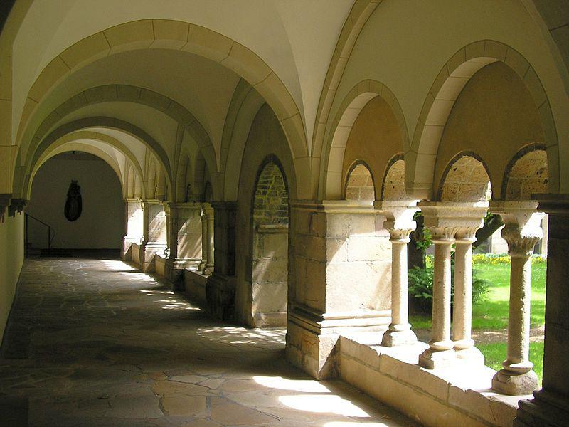 De abdij van Hamborn © Wikipedia
