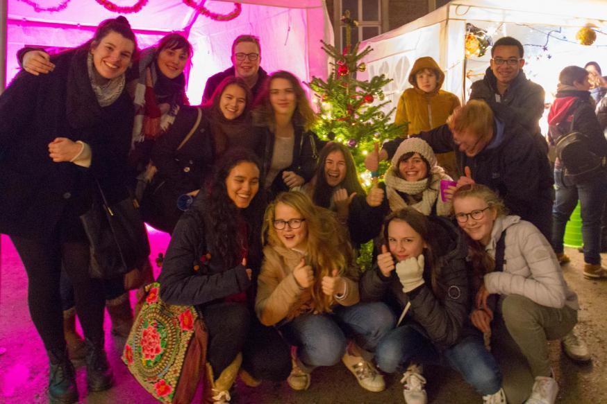 IJD-vriendschapsbanden gesmeed op de adventsontmoeting! © IJD Gent, foto: Koen Van den Bossche