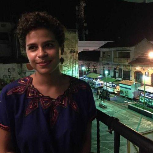 De Belgisch-Nicaraguaanse studente geneeskunde Amaya Coppens © Fam. Coppens