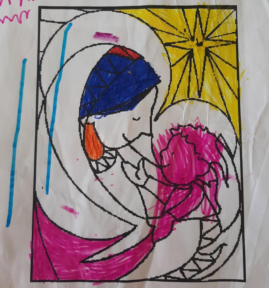 Kleurplaat van Anna