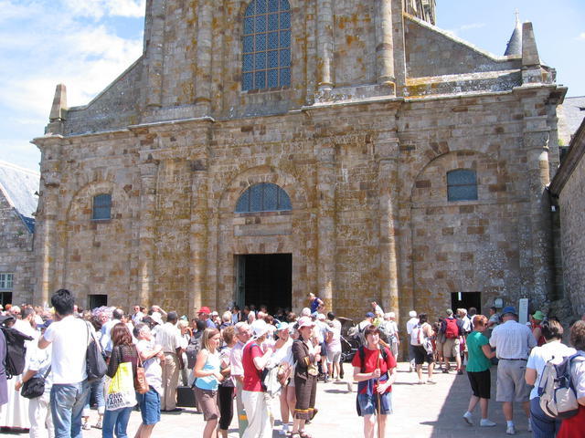 Basiliek Mont Saint-Michel © J. Polfliet
