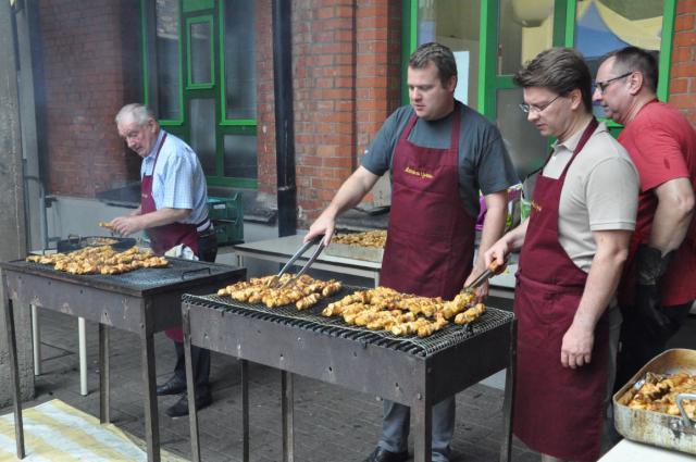 Feest van Sint-Pieter met barbecue © Daniël Duwyn