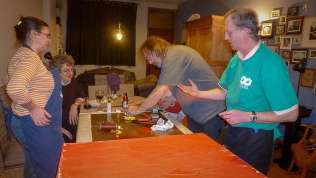 Werkgroep liturgie in actie