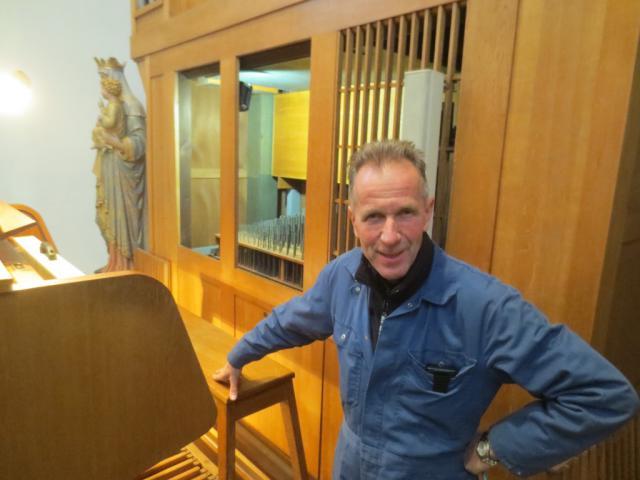Bart De Vylder, orgelstemmer