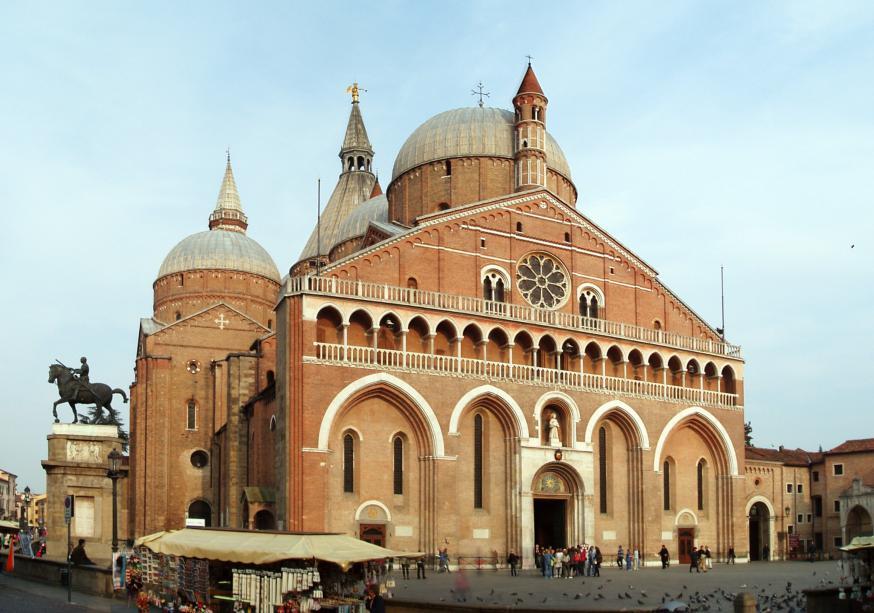 De basiliek van Sint-Antonius in Padua. © Wikipedia